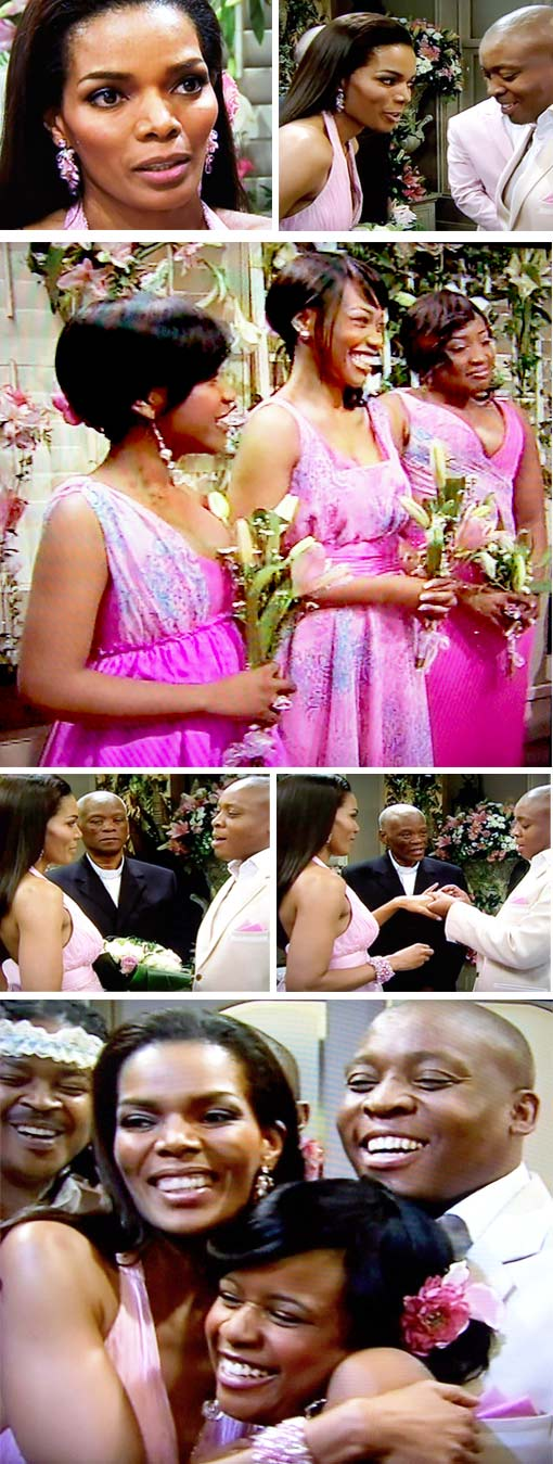 Karabo from generations gets married